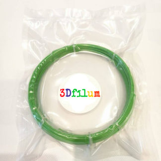samples of 50 g of 3dfilum filaments - green